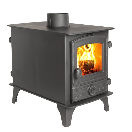 Hawk double sided stove - Wood and Multifuel
