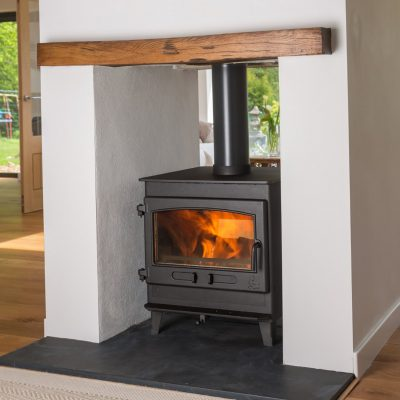 Clearburn Doublesided Sided wood and multifuel