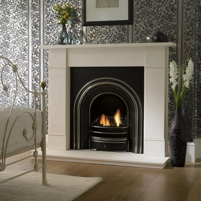 Flat Victorian Room Set fireplace