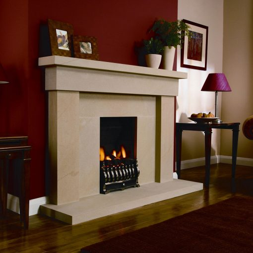 Large Devon Fireplace