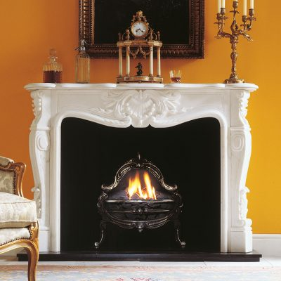 Louis VX Versailles Room set fireplace