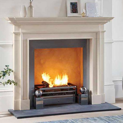 The Burlington fireplace