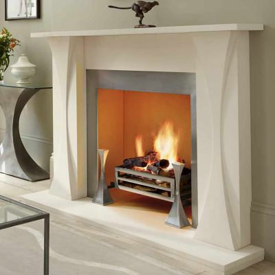 Tom Faulkner fireplace