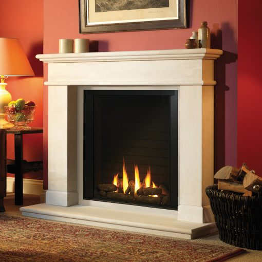 Paragon P9BF shown in Balmoral surround gas fire