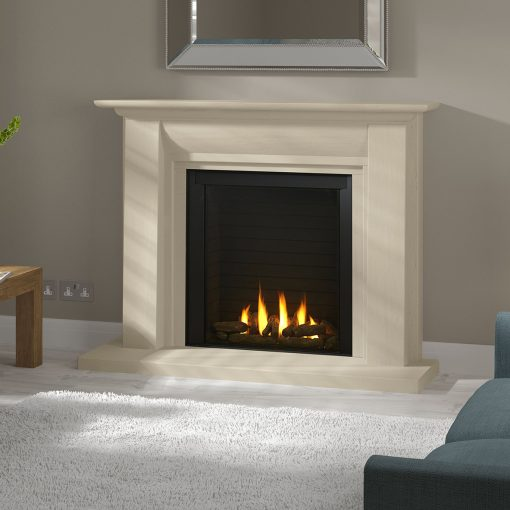 Paragon P9BF shown in Stokesay suite gas fire