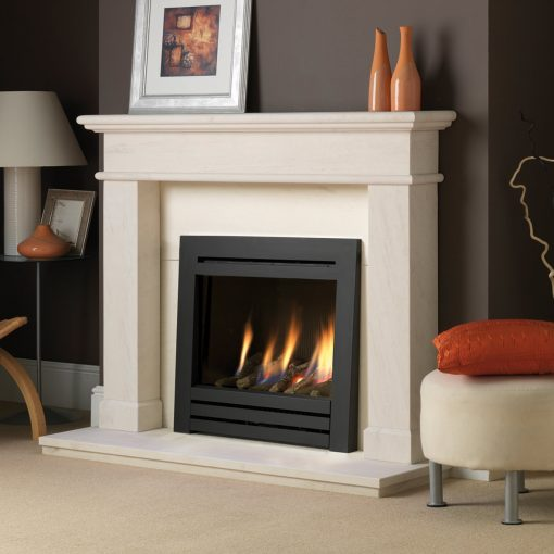 Paragon Symphony CF in Black 3-sided trim in Balmoral surround